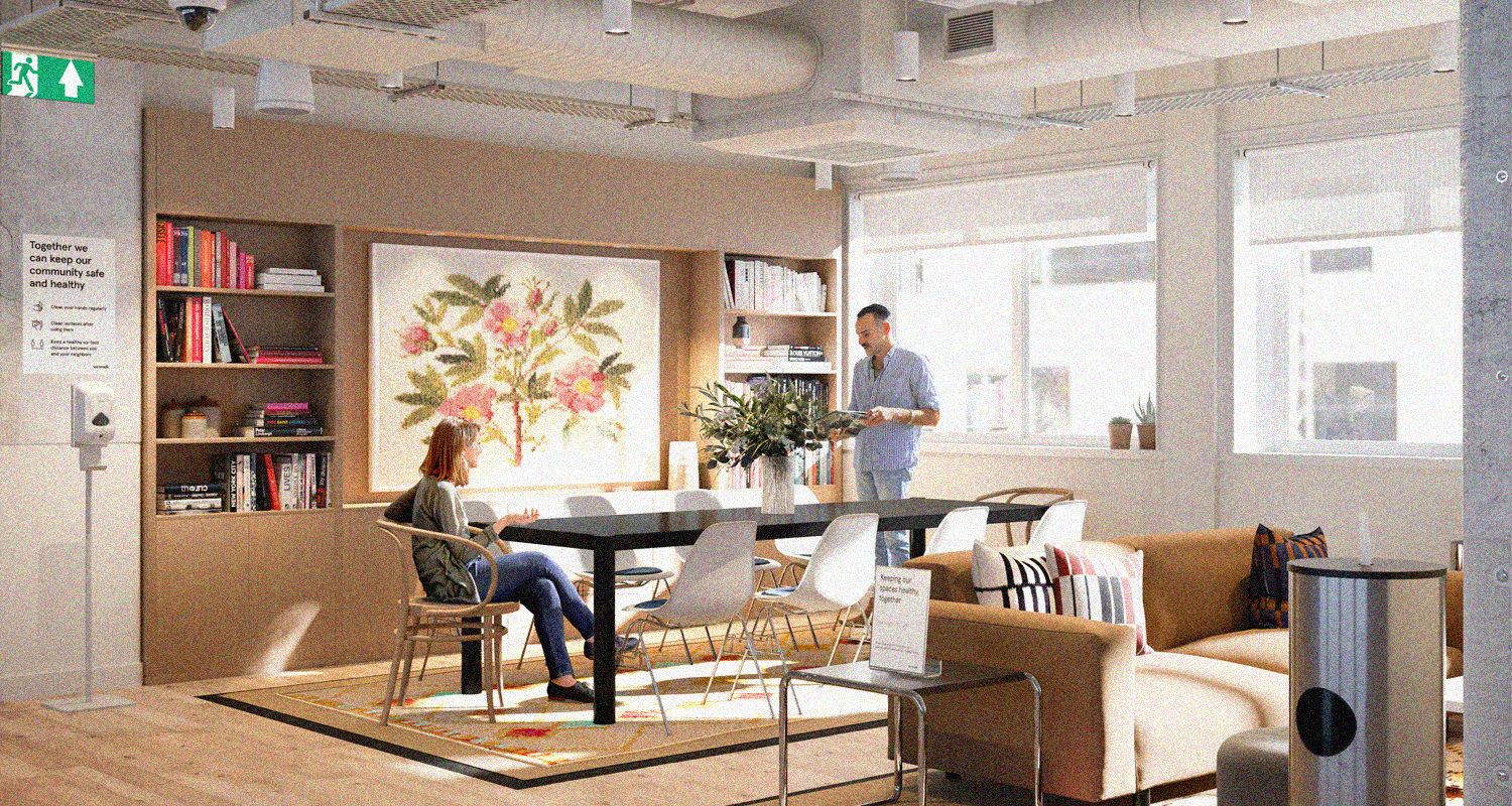 Navigating the New Work Order in Shared Spaces in the Time of the New Normal
