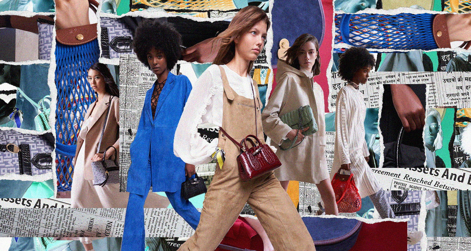 LOOK: Longchamp's SS2021 Collection is an Ode to Parisian Femininity
